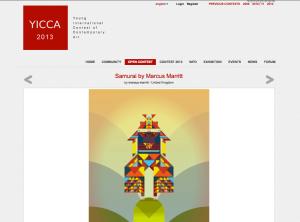 YICCA entry - The Samurai by Marcus Marritt