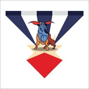 Bull illustration by Marcus Marritt