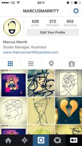 Marcus Marritt on Instagram