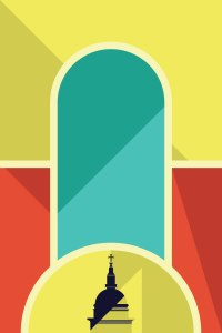 Morning by St Pauls by Marcus Marritt Illustrator